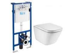 Набор инсталляция Roca Pro с унитазом Roca Gap Clean Rim A89009000R