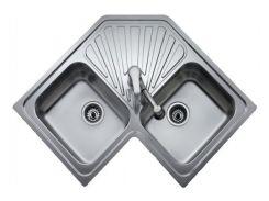 Кухонная мойка из нержавеющей стали Teka CLASSIC ANGULAR 2B 10118005