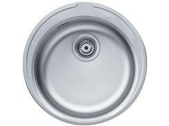 Кухонная мойка из нержавеющей стали Franke Ronda ROX 610-41, 101.0255.785, полированная