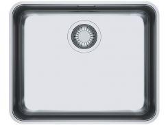 Кухонная мойка из нержавеющей стали Franke Aton ANX 110-48, 122.0204.649, полированная