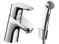 Смеситель для раковины c гигиеническим душем Hansgrohe Focus Е2 31926000