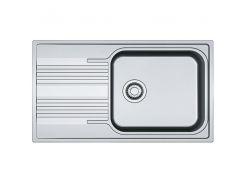 Кухонная мойка из нержавеющей стали Franke Smart SRL 611-86 XL, 101.0456.706, декор