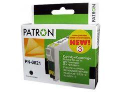 Картридж Epson T0811/T1111 black Patron для принтера Stylus Photo 1410, R290, R295, RX610, RX615, RX690, T50, T59, TX659, TX800FW
