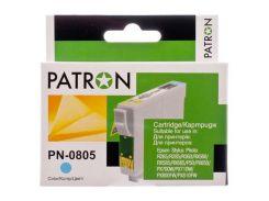 Картридж Epson T0805 Light cyan Patron для принтера Stylus Photo P50, PX650, PX660, PX700W, PX710W, PX720WD, PX800FW, PX810FW, PX820FWD, R265, R285, R360, RX560, RX585, RX685