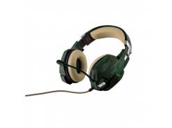 Гарнитура TRUST GXT 322C Dynamic Headset green camouflage