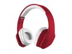 Гарнитура Trust Mobi Headphones red