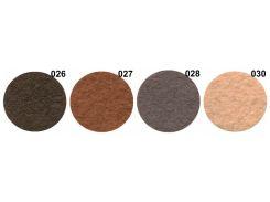 Фетр 1 мм толщина, 24 разных цвета Кусочек 21 см х 14 см.