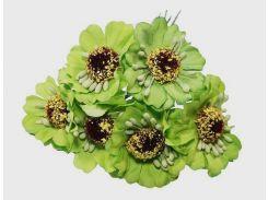 Цветы для поделок, тканевые. Разные расцветки