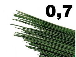 проволока флористическая для рукоделия 100 прутиков (0,7)