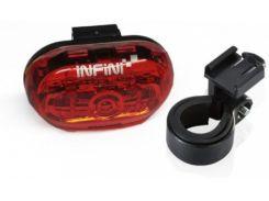 Фонарь светодиодн задн +батар. INFINI I-402 5 светодиодов, 4 реж, крепл. (LTS-36-30)