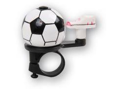 Звонок Green Cycle GCB-023A-BK футбольный мяч (BEL-35-96)