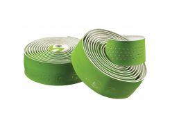 Обмотка руля Cannondale Microfiber Plus white-green (BTP-02-82)