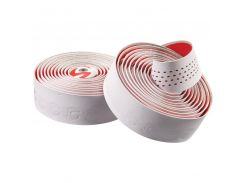 Обмотка руля Cannondale Microfiber Plus white-red (BTP-02-81)