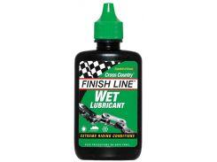 Смазка Finish Line жидкая Wet Lube (Cross Country) для влажных погодных условий, 120ml (LUBR-09-02)
