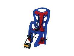 Сиденье заднее Bellelli Pepe Сlamp (на багажник) до 22кг, синее с красной подкладкой (SAD-25-76)