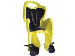 Сиденье заднее Bellelli Mr Fox Сlamp (на багажник) до 22кг, неоново-жёлтое с чёрной подкладкой (Hi Vision) (SAD-98-11)