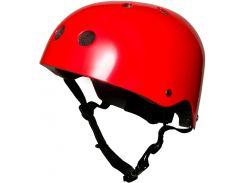 Шлем детский Kiddimoto красный металлик Размер S (48-53 см)