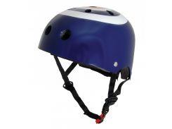 Шлем детский Kiddimoto синяя мишень Размер M (53-58 см)