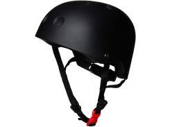 Шлем детский Kiddimoto чёрный матовый Размер M (53-58 см)