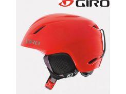 Шлем горнолыжный Giro Launch Red Glowing Cam Размер M/L (52-55,5 см)