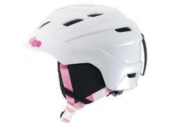 Шлем горнолыжный Giro Nine Jr White Bunnies Размер M (55,5-59 см)