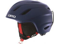 Шлем горнолыжный Giro Nine Jr Matte Blue Varsity Размер M (55,5-59 см)
