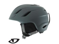 Шлем горнолыжный Giro Nine Matte Dark Shadow Размер L (59-62,5 см)