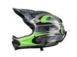 Шлем горнолыжный Giro Remedy Green Carbon Размер M (55,5-59 см)