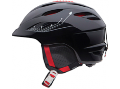 Шлем горнолыжный Giro Seam Matte Black/яскрав. Red Размер M (55,5-59 см)