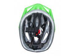 Сменный комплект оборудования на шлем детский Green Cycle FAST FIVE черно-зеленый Размер 50-56 см