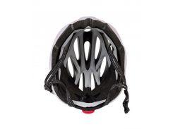 Сменный комплект оборудования на шлем Green Cycle Alleycat серо-белый Размер 58-61 см