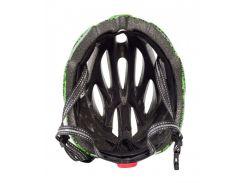 Сменный комплект оборудования на шлем Green Cycle Alleycat черно-зеленый Размер 58-61 см
