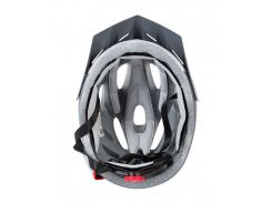 Сменный комплект оборудования на шлем Green Cycle Enduro черно-серый Размер 54-58 см