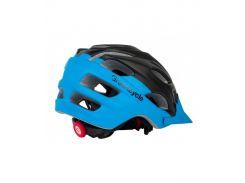 Сменный комплект оборудования на шлем Green Cycle Enduro черно-синий Размер 54-58 см