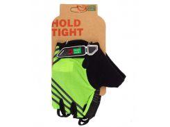 Перчатки Green Cycle NC-2319-2014 Road без пальцев зеленые Размер L