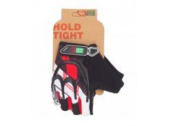 Перчатки Green Cycle NC-2501-2015 MTB Gel без пальцев черно-красные Размер S