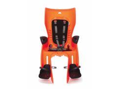 Сиденье заднее Bellelli Summer Relax B-fix до 22кг, оранжевое с черной подкладкой (SAD-12-62)