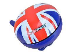 Звонок KiddiMoto британский флаг, большой (BEL-97-15)