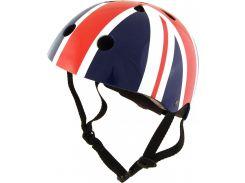 Шлем детский Kiddimoto британский флаг Размер S (48-53 см)