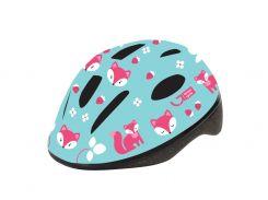 Шлем детский Green Cycle Foxy мятный/малиновый/розовый лак Размер 50-54 см