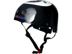 Шлем детский Kiddimoto бильярдный шар, чёрный Размер S (48-53 см)