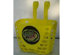 Корзина Green Cycle GCB-07 детская пластик желтая (BSK-69-69)