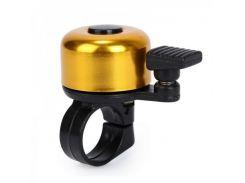 Звонок Green Cycle GBL-02A желтый 35мм (BEL-21-58)