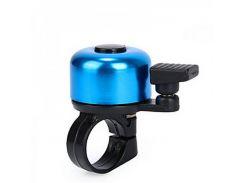 Звонок Green Cycle GBL-02A синий 35мм (BEL-23-05)