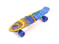 Скейтборд Meteor Multicolor hawajska