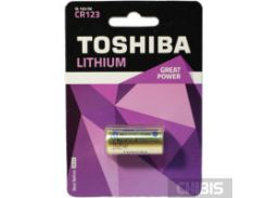 Батарейка CR 123 Toshiba Lithium
