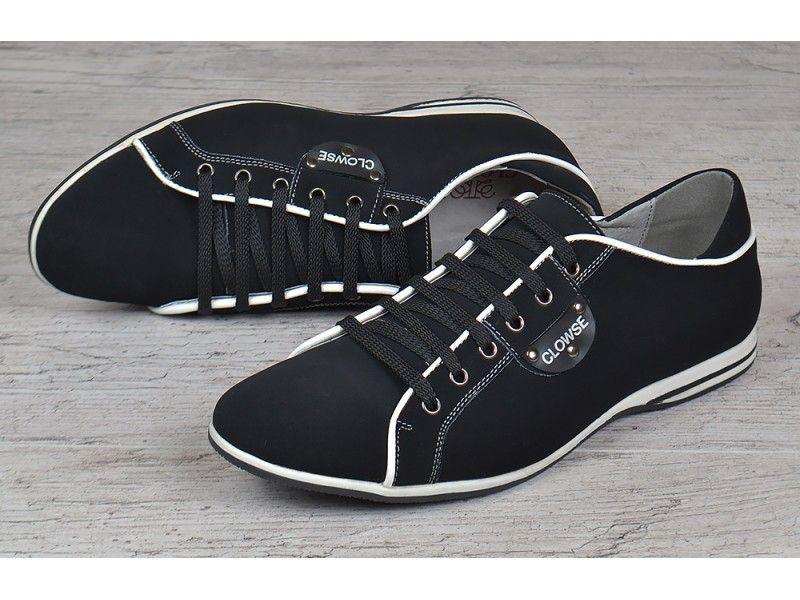 5779f1d5 Туфли мужские кожаные на шнуровке Clowse черные купить недорого за ...