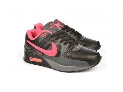 Кроссовки женские Nike Air Max Pink Black черные с розовым dc3717212e9f7