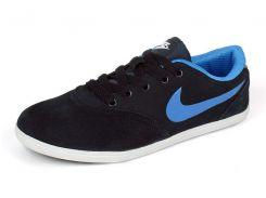 Кроссовки женские замшевые темно-синие Nike Zoom
