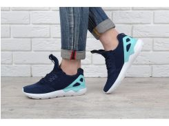 Кроссовки женские Adidas Tubular Blue&mint замшевые